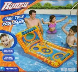 Banzai Skee Toss Summer Pool Game **NEW**
