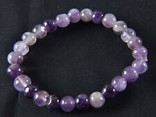 Amethyst bracelet   Far-infrared radiation negative ion emission  # 898