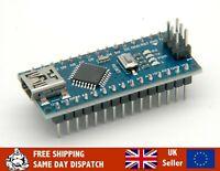 Arduino Nano compatible, ATmega328 5V 16MHz, CH340, SOLDERED HEADERS