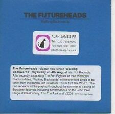 (685C) The Futureheads, Walking Backwards - DJ CD
