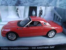 1/43 FORD thunderbird James Bond DIE ANOTHER DAY  007 series  diorama