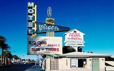 Imagen de pared motel fotomural póster XXL estados unidos Yucca américa vacaciones palmeras wa123li