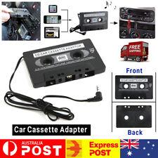 Car Music Audio Cassette Tape aux Adapter Converter 3.5mm Plug ipod mp3 player