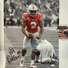Autographed/Signed JK J.K. DOBBINS Ohio State Buckeyes 16x20 Photo JSA COA #2