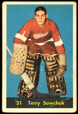 1960 Parkhurst #31 Terry Sawchuk, Detroit Red Wings.  Lowgrade