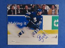 STAFFAN KRONWALL SIGNED 8x10 PHOTO ~ JSA Basic CERT ~ NHL AUTOGRAPH