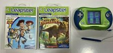 Leapfrog Leapster 2 Green and Blue with 2 Games - Dinosaurs and Toy Story 3