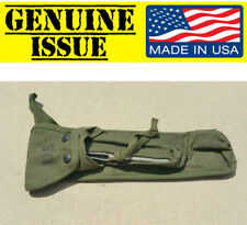 GENUINE US Military Issue VIETNAM ERA BIPOD CASE XM3 CARRYING POUCH USGI CANVAS