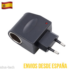 Adaptador Conversor de 12V 220V Mechero AC DC Enchufe Red Convertidor