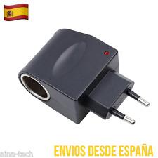 Adaptador Conversor de 12V 220V Mechero AC DC Enchufe Red Convertidor 1000mAh