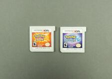Pokemon Sun Nintendo 3DS and Pokemon Moon Nintendo 3DS Game Lot - Authentic