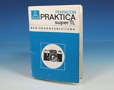 Pentacon PRAKTICA super tl Bedienungsanleitung german manual - (101328)