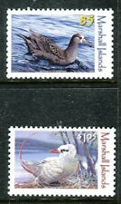 Marshall Islands 1027-1028 Water birds 2012 Black-footed Albatross Red-  x16490