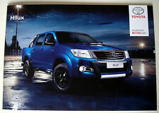 Toyota . Hilux . Toyota Hilux . October 2015 Sales Brochure