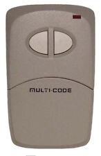 MULTI-CODE 4120 Garage Door Opener Two Button Remote Control 300MHz