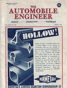 1946 Automobile Engineer - March - Austin 5 ton trucks; Steam trucks;