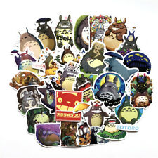 50 Pcs Totoro Graffiti Stickers Japanese Anime Cartoon Stickers Car Motorcycle