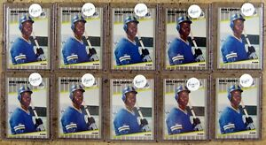 Ken Griffey Jr 1989 Fleer #548 Rookie RC 10ct Card Lot #B