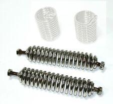2x Druckfeder (1 Paar) für Federgabel  NSU 501 T , TS, vernickelt, neu, Nachbau