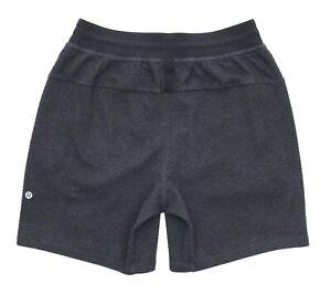 """Lululemon Current State Short 7""""- Men's Size Medium Black LM7A19S Gym Shorts"""