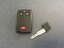 Cáscara dura funda para 2//3 botón inteligente sin llave FOB Mitsubishi L200 Outlander