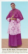 867/b Servo di Dio Mons. Giovanni Ferro    Holy card
