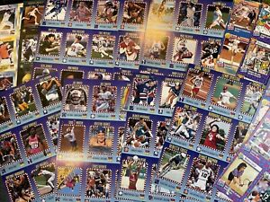 1993 1994 Sports Illustrated For Kids LOT 14 Uncut Sheets = 119 CARDS SI
