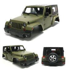 1/10 Army Green RC Car Climbing Hard Body Shell for Land Rover Wrangler Jeep HPI