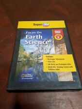 Glencoe: Focus On Earth Science Super Dvd Grade 6 Pc Mac quizzes video labs tool