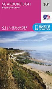 Scarborough Bridlington & Filey Landranger Map 101 Ordnance Survey Latest