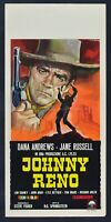 Plakat Johnny Reno Dana Andrews John Agar Jane Russel Western Rether N11