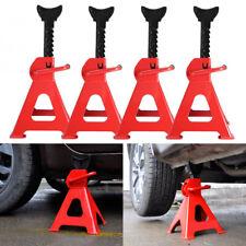 4x 3 Ton Axle Stands Rack Car Garage Floor Jack Repair Lifting Tool Heavy Duty