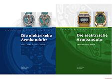 Fachbuch Die elektrische Armbanduhr, 2 Bände, analoge und digitale Quarzuhr, NEU
