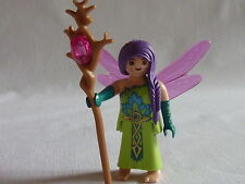 playmobil  personnage animaux chateau princesse féérie reine fée nature ailée