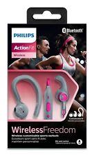 Philips ActionFit SHQ7555PK/10 Casque sport Bluetooth etanche  telecommande