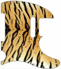 Telecaster Pickguard Custom Fender Tele 8 Hole Guitar Pick Guard Tiger Print