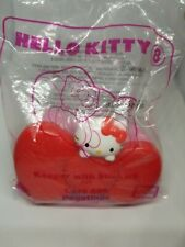 Hello Kitty Keeper With Stickers Red Bow Inside Mirror Pink Back Bow New Package