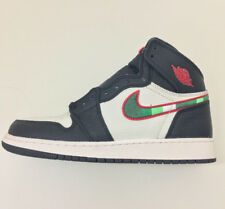 Nike Air Jordan 1 High Black/Sail-White-Gym Red Star Is Born GS UK 6 US 7 EU 40