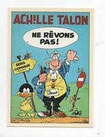 Carte Postale ACHILLE TALON n°3/4 par GREG. Editions Aedena, fin 1980