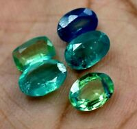 Natural Bi-Color Africa Sapphire 6.35 CT Lot Of 5 Pcs Best Quality Gemstone !!