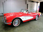 1959 Chevrolet Corvette Convertible 1959 Chevrolet Corvette Convertible 20,418 Miles Red American Muscle Car Select  for sale
