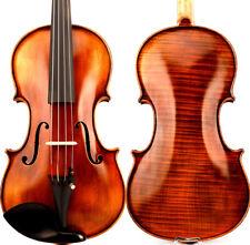 "T21 TOP An Master Antique Stradivari Style 15"" Viola 1 Piece European Maple Deep"
