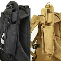 1pair Tactical Pouch Backpack Shoulder Strap Bag Outdoor Accessory Hunting M1N0