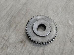 "Jet 9"" Metal Lathe 40T 40 Tooth Gear .65"" Bore 2.46"" Diameter"