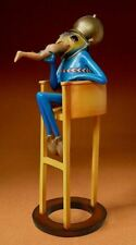 More details for bosch devil on chair gothic art sculpture figure statue ornament figurine