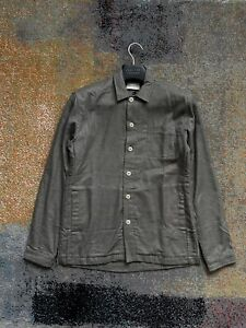 Men's Oliver Spencer Shirt/ Jack 100% Wool Khaki Sized M brand new with tags