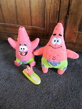 SPONGEBOB SQUAREPANTS...3 toys of  PATRICK......softie, figure, cup??