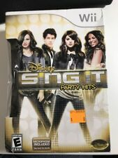 Wii Disney Sing It Party Hits Video Game Brand New Sealed