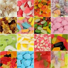 Huge choice of Pick n Mix Sweets - Retro Wedding Favours Xmas Party Bags - 100g