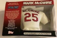 1999 Topps Jersey Tops Mini Replica Mark McGwire St. Louis Cardinals